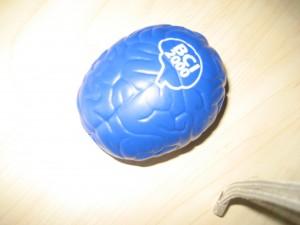 Stress ball, Stephen Hawking's office, PI, Waterloo